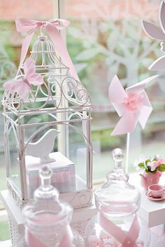 bird cage decoration