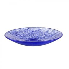 Kosta Boda Tellus Dish in Blue - 7070908
