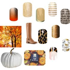 """""""Jamberry Fall 2014- Gold"""" by miriam-stanley-pace on Polyvore buy it now at aimeedaniello.jamberrynails.net"""
