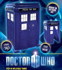 DOCTOR WHO STEP IN INFLATABLE TARDIS This is only a few quid more than a toilet tent.... lol