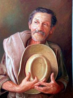 ''Retrato 4'' Ramiro Ramirez Cardona - Colombia