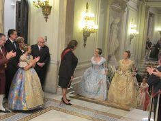 Las Cortes de Honor 2013 acceden al Ayuntamiento