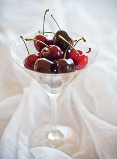 Use your own wine glasses or buy cheap plastic wine glasses for an effective way to serve berries, nuts, dried fruits and candies