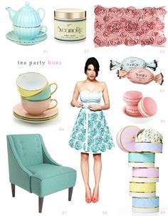 Tea Party Hues: Love the dress! It's from Review, tried it on for my engagement party but couldn't convince myself to spend a small fortune!