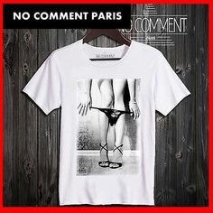 NO COMMENT PARIS Tシャツ・カットソー 【関税送料込】ノーコメンパリ☆sexy girl