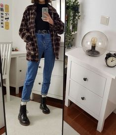 Outfits sthetisch mode streetstyle streetw stil finden sthetisch finden mode outfits stil streetstyle streetw 25 + on yay or nay Denim Outfits, Edgy Outfits, Mode Outfits, Grunge Outfits, Fall Outfits, School Outfits, Girl Hipster Outfits, Hipster Outfits Winter, Tumblr Outfits
