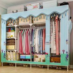 Foldable & Portable Closet Storage Cabinet