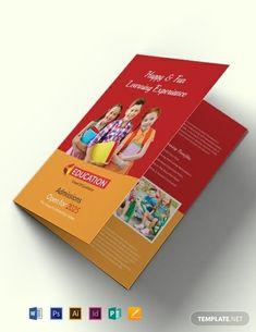 Your Professional Pin Travel Brochure Template, Bi Fold Brochure, Brochure Layout, Corporate Brochure, Kids Learning Activities, Kindergarten Activities, Education Reform, Educational Websites, Teacher Humor