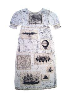 "Simone Pfister,  ""Thurdays Child"", 2003   Stone lithograph found image, cotton thread hand stitching"