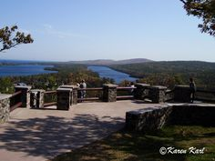 Newly constructed viewing area overlooking Copper Harbor. If you go to the far left of this viewing area and look down you can see my house!