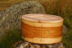 Bent wood box #Woodworking #sveip