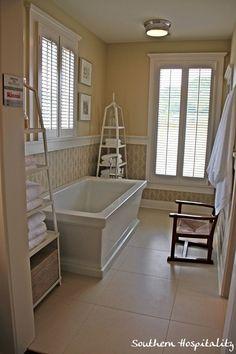 LOVE the bath tub.