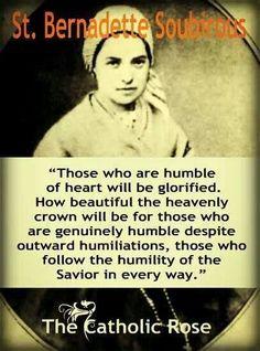 St. Bernadette Catholic Quotes, Catholic Prayers, Catholic Saints, Religious Quotes, Roman Catholic, Catholic Doctrine, Catholic Art, Ste Bernadette, St Bernadette Of Lourdes