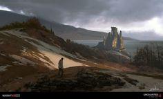Eytan Zana Concept Art Uncharted 4 - Scotland hillside