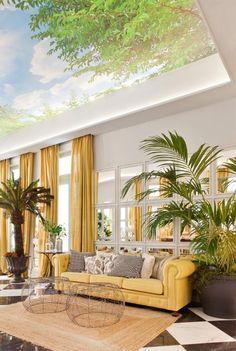 Sofisticados aires tropicales (el espacio Telva en Casa Decor) · Sophisticated tropical vibes