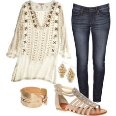 Boho is a modern twist on hippie/70's.  Kind of an eclectic mix. Love it!