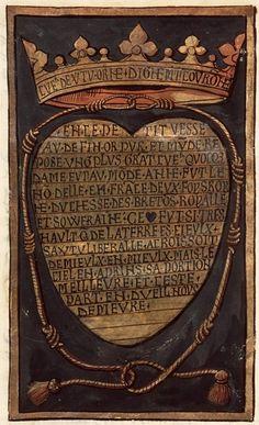 Pierre Choque, Commémoration de la mort d'Anne, reine de France, duchesse de Bretagne,Paris; c. 1514-1515