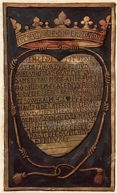 Commémoration de la mort d'Anne, reine de France, duchesse de Bretagne, Paris; c. 1514-1515