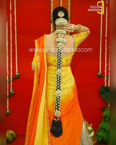 Our beautiful wearing for photoshoot Photography Designer Makeup Jewellery Decor PelliPoolaJada branches all over AP/ Telangana/ Tamilnadu/ Karnataka / Mumbai / Delhi and USA Order atleast 2 weeks in advance and please ask for receipt after your purchase South Indian Wedding Hairstyles, Bridal Hairstyle Indian Wedding, Bridal Hair Buns, Bridal Braids, Bridal Hairdo, Indian Hairstyles, Saree Hairstyles, Bride Hairstyles, Headband Hairstyles