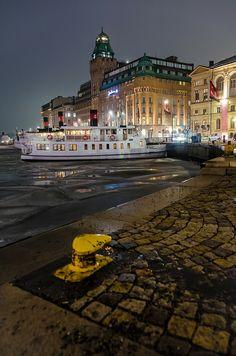 Stockholm at night #sweden #sverige