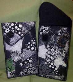 Black & White Eye glass cases | Craftsy