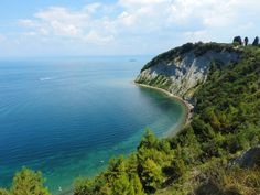Slovenia and beaches? The past summer we were looking for beautiful hidden bays at Slovenia's coast and we found Nature Park Strunjan.
