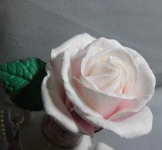 Роза (зефирный фоамиран) от пользователя «alona103» на Babyblog.ru