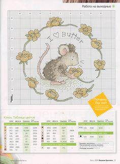 Cross-stitch Happy Field Mice, part 1...   (2) Gallery.ru / Фото #22 - ВК_09(58)_2009 г. - f-morgan