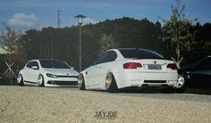 VW SCIROCCO & BMW M3 E92 www.jayjoe.at