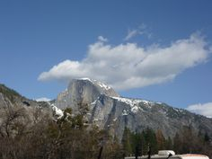 Half Dome at Yosemite - I will visit this summer - even if I have to go by myself!