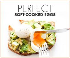 Perfect soft-cooked eggs - Hither and Thither