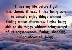 ***Chronic Pain, and Invisible Illnesses