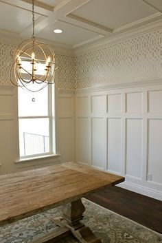 How to that wood wall stained shiplap paneling for Wood paneling transformation