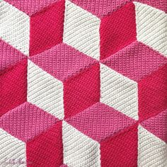 Crochet Along: Un plaid à la manière de Vasarely #1