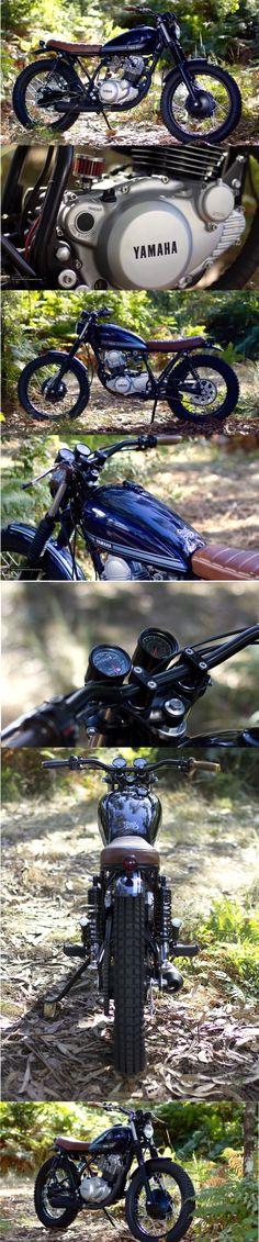 Custom Yamaha SR250 by Trinta & Um