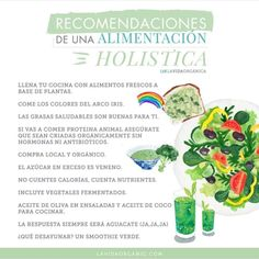16 Infografías que te ayudarán a comer más saludable en 2019 Healthy Juices, Healthy Snacks, Healthy Eating, Holistic Nutrition, Health And Nutrition, Nutrilite, Goulash, Herbalife, Ayurveda