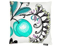 Persikka Turquoise Cushion Cover