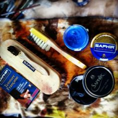 #saphir #pommadier #cream #krem #creme #universelle #wax #wosk #pasta #pate #tinture #patyna #patynowanie #patynacja #patina #patine
