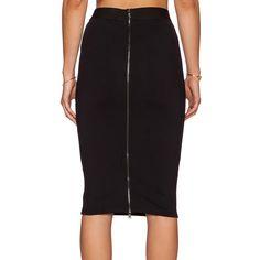 FANALA OL Skirts Women 2017 Slim Fitted Pencil Skirt Knee Length High Waist Straight Women Back Zipper Skirt Female Multi-color