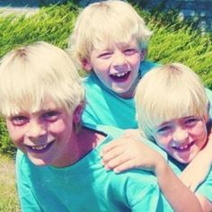 Riker, Rocky, and Ross.