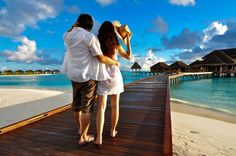 #Flitterwochen #Honeymoon #Malediven ©shutterstock | Atmostfear