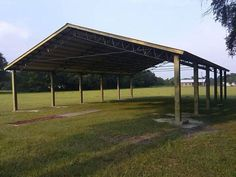 Photos/Pictures of Steel Truss Pole Barns.. Horse Barns Hay Barns Horse Arenas Run-Unders Carports Batting Cages Pavilions Sheds Equipment Storage Enclosures Agriculture Farming
