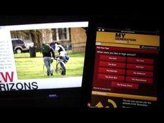 My Generation iPad App Demo - YouTube