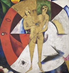 Marc Chagall, Homage to Apollinaire, 1911/12 Oil on canvas, 200.4 x 189.5 cm Collection Van Abbemuseum, Eindhoven