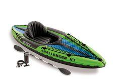 Le kayak gonflable Intex sera votre allié pour faire des balades aquatiques sur les lacs et les rivières. #kayak #gonflable #intex #lac #balade #rivière #mer #raviday