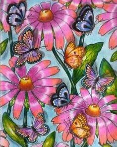 Inspirational Coloring Pages by Geiza Menegusso #inspiração #coloringbooks #livrosdecolorir #jardimsecreto #secretgarden #florestaencantada #enchantedforest #reinoanimal #animalkingdom #adultcoloring #milliemarotta