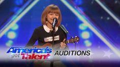Grace VanderWaal: 12-Year-Old Ukulele Player Gets Golden Buzzer - America's Got Talent 2016 - YouTube