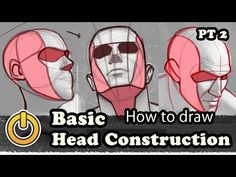 Basic Head Drawing Reiq Tutorial Patreon Thanks to all my supporters… Drawing School, Life Drawing, Mask Drawing, Figure Drawing Reference, Anatomy Reference, Head Proportions, Drawing The Human Head, Manga Tutorial, Face Sketch