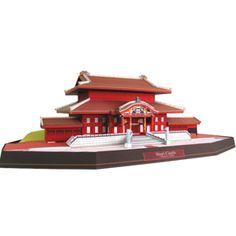 Japón Castillo de Shuri - Asia / Oceanía - Arquitectura - Arte de papel - Canon CREATIVE PARK