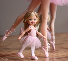 Barbie Kids, Barbie Family, Barbie Skipper, Barbie Hair, Doll Clothes Barbie, Barbie Stuff, Barbie Ballet, Ballerina Doll, Barbie Tumblr